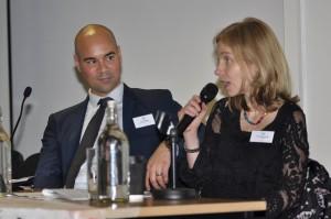 Carolina Gottardo of LAWRS and IPR chair Tim Aldridge