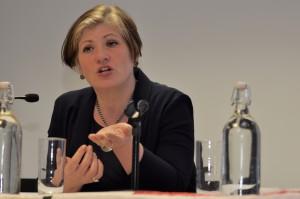Emily Thornberry MP addressing IPR's AG